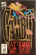 GAMBIT #1 MARVEL COMIC BOOK THE CAJUN X-MAN WOLVERINE ROGUE STORM LEE WEEKS