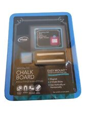 $2.99 Board Dudes BLUE Magnetic Chalk Board To Do Reminder Grocery List School
