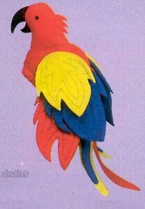 parrothead Parrot Hat plush colorful fabric Luau Margaritaville Jimmy Buffet NEW