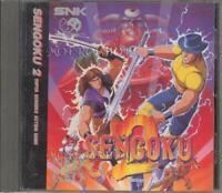 NG Neo Geo CD Sengoku Densho 2 NCD SNK Japan Game Vintage F/S