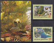 MACEDONIA 2016 EUROPA CEPT.THINK GREEN.BLOCK+ Set of 2 stamp MNH