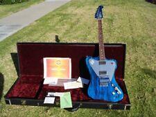 2002 Gibson Firebird Historic Custom Shop Blue Swirl Non Reverse Nonreverse
