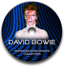 DAVID BOWIE STYLE POP ROCK GUITAR BACKING TRACKS MP3 CD ANTHOLOGY JAM TRAXS