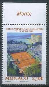 Monaco 2019 Sport, Tennis, Monte Carlo Rolex Masters MNH**