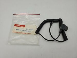 Metz Standard PC Coiled Cord Cable for 45CT1 Flash Unit #5520