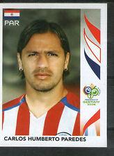 PANINI WM 2006 World Cup Germany sammelbild Sticker Paraguay n. 125 Paredes