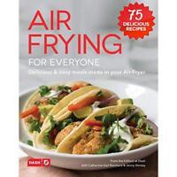 Dash DCB001AF Air Fryer Recipe Book for Healthier + Delicious Meals, Snacks