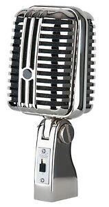 Vintage Mikrofon Retro Vocal Gesangsmikrofon Mikro Elvis Style Design Microphone