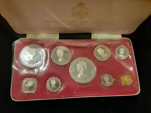 1971 Bahama Island  9- coin set from Franklin  mint silver 2.8 oz