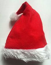 CHRISTMAS XMAS SANTA PARTY HATS WHOLESALE : MULTIPLE QUANTITIES : FANCY DRESS