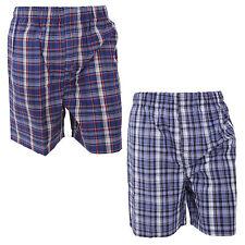 Men's Check Pyjama Shorts