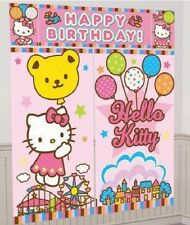 Hello Kitty Balloon Dreams Giant Wall Decoration Kit/Scene Setter