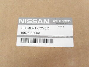 Genuine OEM Nissan 16526-EL00A Air Cleaner Filter Cover 13-20 NV200 07-12 Versa