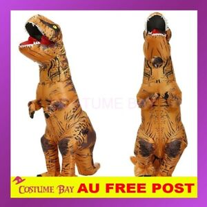 Adult Kids Inflatable Masked Suit Dinosaur Alien Unicorn Halloween Costume Party