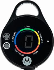Motorola - PEBL Personal LED Light with UV Sensor (Black)