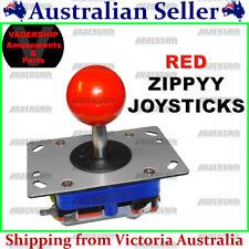 ZIPPYY Joystick – 2-4-8 WAY (Short Stick) (RED) ARCADE or MAME