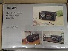 Età 80er anni Retrò Vintage ONWA TV -777 portatile televisore SW IN SCATOLA ORIGINALE