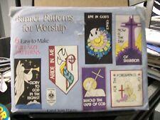 BANNER PATTERNS FOR WORSHIP 6 EASY TO MAKE FULL SIZE PATTERNS CAROL JEAN