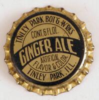 Plitt/'s Ginger Ale Patch Shaped Like A Bottle Cap