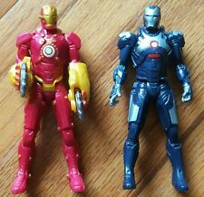 2 Iron Man 3 Hasbro Assemblers Figurines Marvel Comic, Crosscut, Sonic Camo