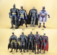 "DC Direct Comics Collection Batman Arkham Asylum batman action figure 6"" LOOSE"