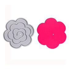 Flower Metal Cutting Dies Stencil Scrapbook DIY Paper Cards Craft Die-Cut Decor