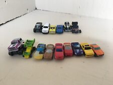 USED X9 Micro Machines Nissan Toyota MR2 Ford GT40 Camaro Corvette and X6 Others