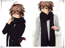 Japan Anime GUILTY CROWN Shu Ouma Cosplay/Daily Warm Black Scarf Muffler