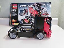 LEGO TECHNIC 2 in 1 RACE TRUCK/RACE CAR BUILDING SET # 8041