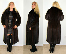 Mahogany Mink Fur Coat Size Small 4 6 S Efurs4less