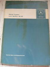 Werkstatthandbuch Mercedes Motor M 110 - /8  6 Zylinder . 280-280C-280E-280CE