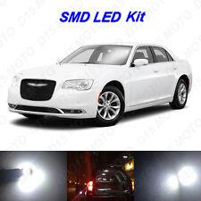 18 x White LED Interior Bulbs + Reverse + Tag Lights for 2011-2014 Chrysler 300