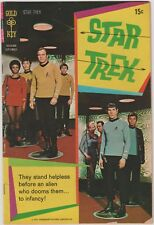 STAR TREK #8  GOLD KEY PHOTO COVER