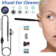 USB Endoscope Visual Ear Cleaner Earwax Inspection Camera For Android Windows PC