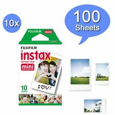 100PCS Fujifilm Instax White Instant Film for Mini 8 Plus 90 25 70 Camera
