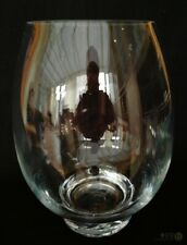Large Footed Ovoid Glass Vase 25cm Tall | FREE Delivery UK*