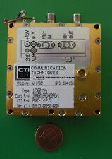 Herley CTI phase locked PDRO precision oscillator 12500 MHz, 12.5 GHz, tested