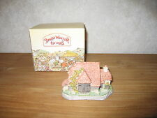 DAVID WINTER *NEW* Maison Cottage Harvest Barn House 7x10cm