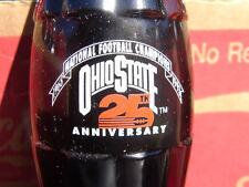 Ohio State 25th Anniversary Coca-Cola Coke Bottle