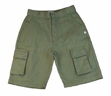 JACADI Boy's Caniche Fir Green Bermudas Shorts Size 3 Years NWT $44