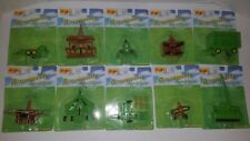 Maisto Countryside Farm & Field Diecast Lot of 11 Tractor Accessories 1998