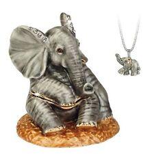 Secrets - Hidden Treasures Baby Elephant Trinket Box NEW  25065