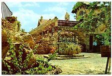La Romana Postcard Dominican Republic Artists Village Unposted Plants House