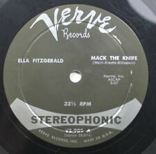 Jazz 45 Ella Fitzgerald - Mack  The Knife / Cool Breeze On Verve Records