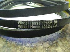 "TORO WHEEL HORSE 8911 24663 106516 114433 V-BELT 1/2""X83"""