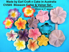 Blossom Cutter & Veiner Cake Decorating Sugar Flower Gum Paste Tools