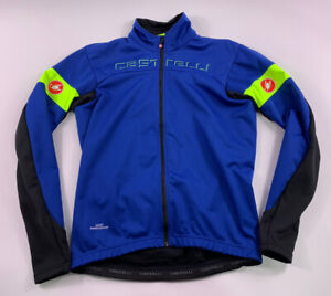 Castelli Gore Windstopper Thermal Insulated Road Cycling Women's Jacket XL Shirt