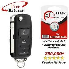 For 2002 2003 2004 2005 Volkswagen VW Beetle Keyless Remote Car Flip Key Fob