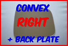 VAUXHALL FRONTERA 1998-2004 DOOR MIRROR GLASS CONVEX BACK PLATE RIGHT H/S