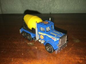 "1:87 1981 MATCHBOX PETERBILT ""CEMENT COMPANY LTD"" CEMENT TRUCK MADE IN THAILAND"